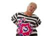 Seniorin mit Rueckenschmerzen