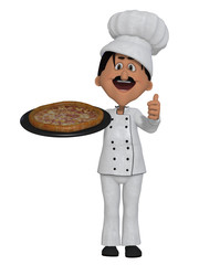 Chef pizza 3d