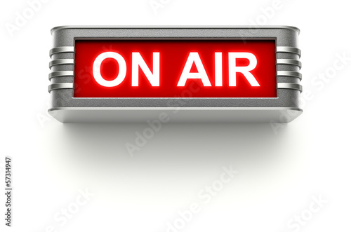 ON AIR sign - 57314947