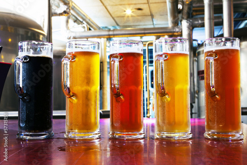 canvas print picture Beer Flight