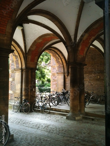 Arches and Bicycles in Cambridge