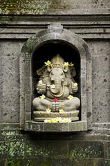 ganesh hindu god statue in bali indonesia