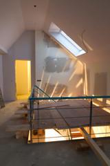 Umbau im Dachgeschoss
