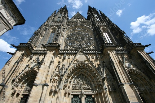 Prague, Czech Republic - St Vitus Cathedral