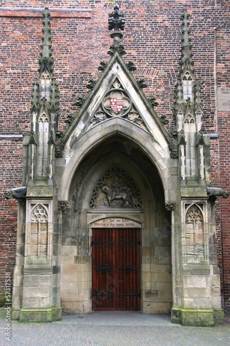 Utrecht, Netherlands - Cathedral door
