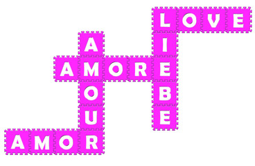 Puzzle amore