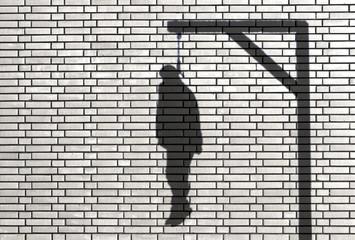 ombre de pendu