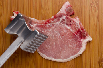 Hammer for meat