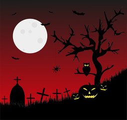 illustrazione  per halloween