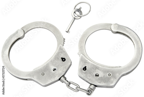 Police Cufs Cutout