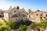 Arkadi monastery. Crete, Greece
