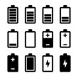 Battery icons set - 57323908