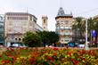 Plaza de la Reina in Valencia, Spain