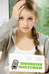 Teenager erhält hohe Telefonrechnung