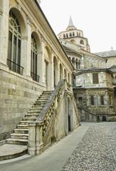 Bergamo old city, Italy