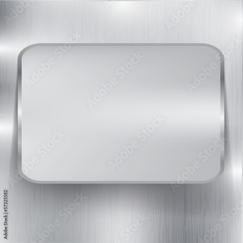 Poster metal background