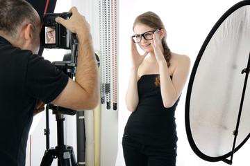 Fotoshooting im Studio
