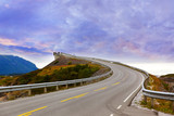 Fantastic bridge on the Atlantic road in Norway