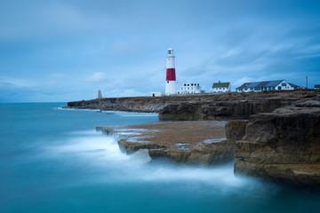 Portland Bill light house ,Dorset, southern England.