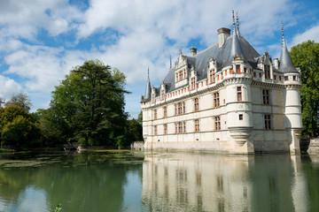 Azay le Rideau Chateau ,Loire Valley, France