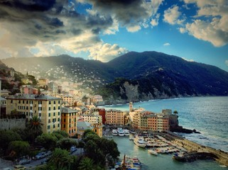 camogli in the morning light