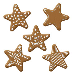 christmas star gingerbread