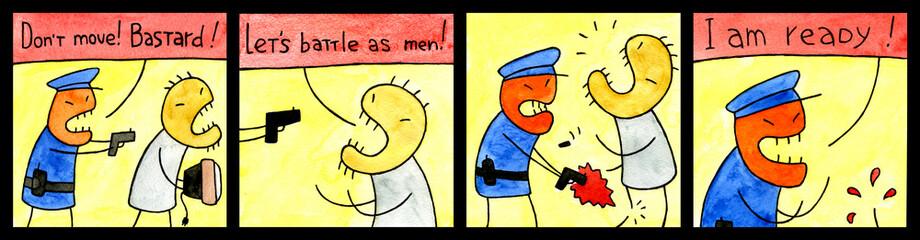 Cunning cop
