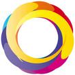 Buntes Rad - Logo - Farbkreis