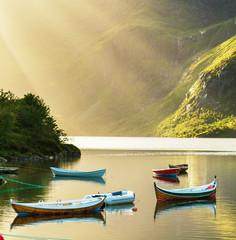 fototapeta Jezioro w Norwegii