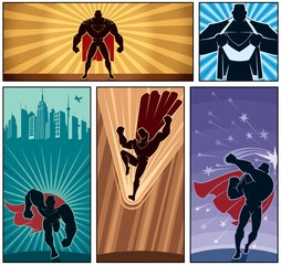 Superhero Banners 2