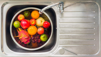 fruit washing