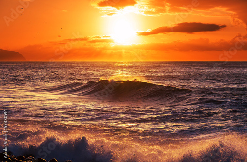 Obraz na Plexi Sea sunset