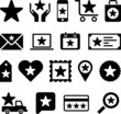 Conceptual Star icons