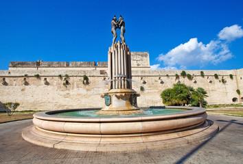 Fontana a Lecce, Italia