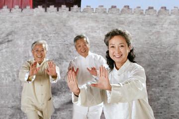 oriental senior adult