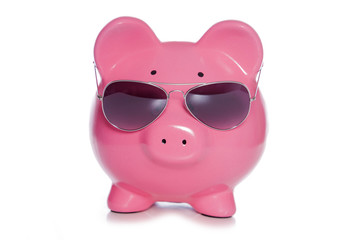 Saving for a holiday piggy bank
