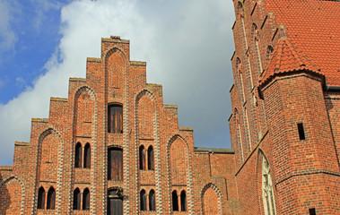 Kloster Wienhausen: Giebel Konventsgeb. (13. Jh./Niedersachsen)