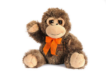 plushy monkey toy