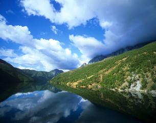 Albanie, Lac de Koman