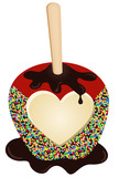 Chocolate Apple Love
