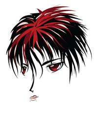 Anime vampire face