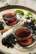 Frischer Holunder-Tee