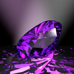 Amethyst - violetter Edelstein