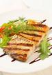 Grilled carp fillet