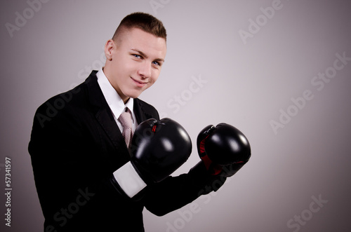 Suit boxing