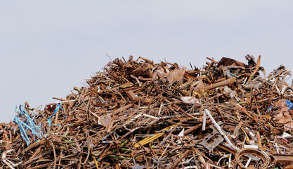 scrap metal processing industry