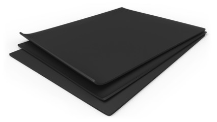 Thick rubber sheets