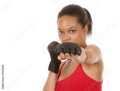 female fighter
