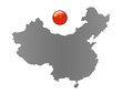 China-Landkarte