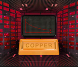 business decrease or negative results of copper merchandise poster